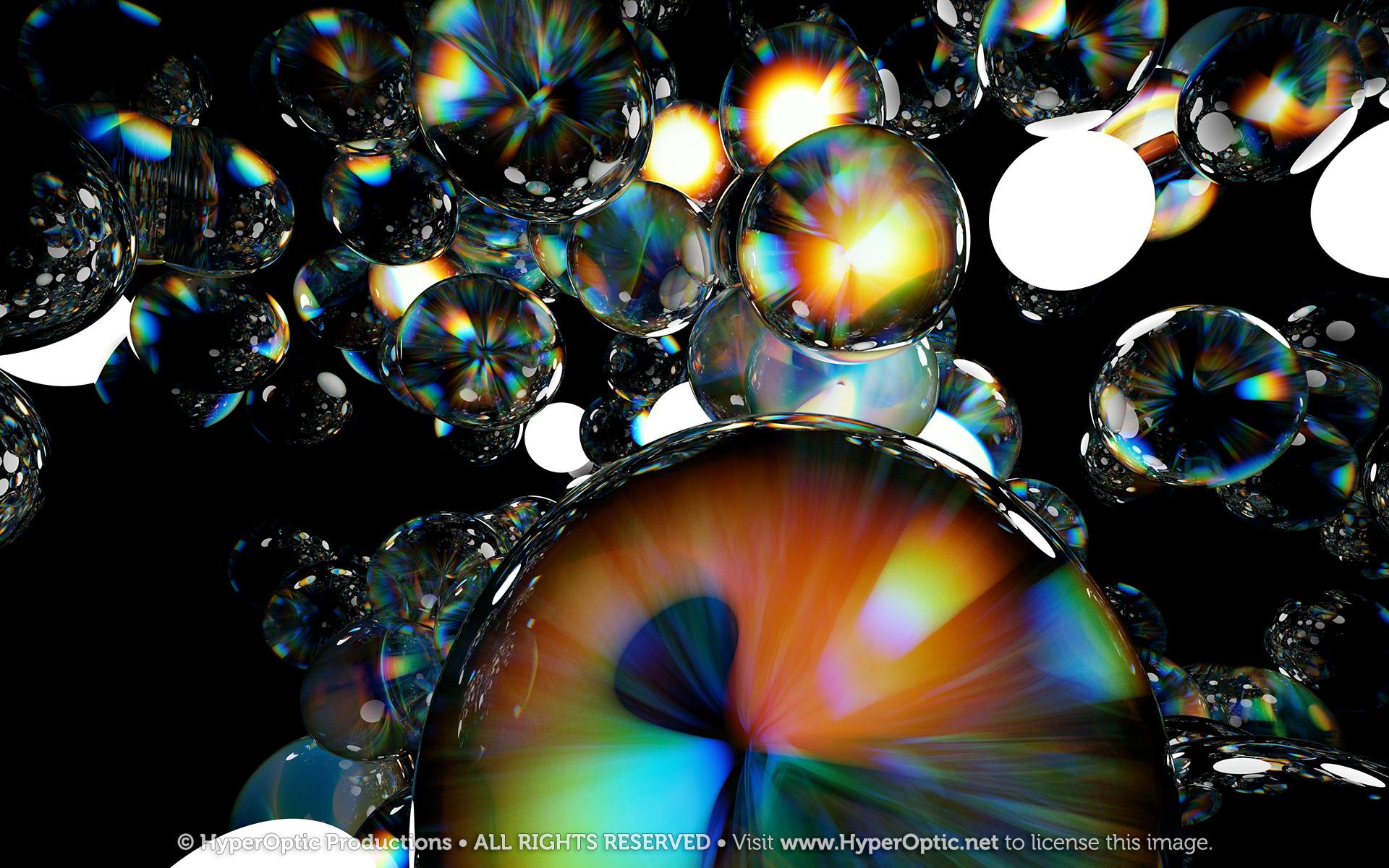 Chromatic-Aberration-Ball-Cloud