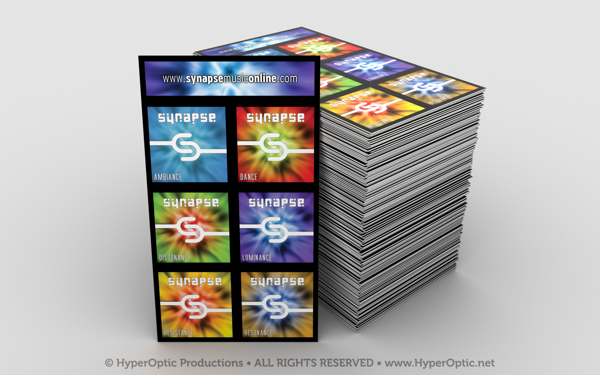 Business-Card-Sample-Visualization---Synapse-Album-Covers-watermarked